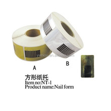 Fashion curve nail form extension guide tools for UV Gel and acrylic