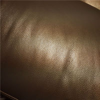 Classic upholstery leather cow finished leather