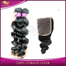 Cheap Top quality 5a top grade chinese wholesale virgin 100% human hair lace closures