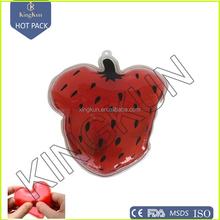 reusable fruit style pocket hand warmer/ hot pack, click pocket kitty hand warmer, heteromorphism heat pack