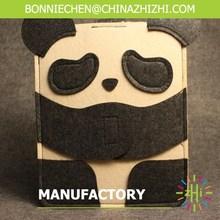 2015 most popular and small design handmade felt bags/Chinese panda phone bags