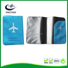 Soft PVC Flight Ticket PVC Passport Holder