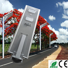IP65 Easy install 40W integrated solar street light all in one for street and outside