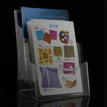 Office Use Acrylic Book Display / Leaflet Hold /Bochure Hold