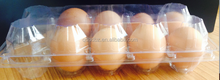 clear plastic egg tray, PVC/PET/PS/PP blister packing tray/box