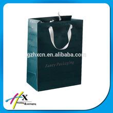 de gama alta bolsa de papel kraft para ropa de marca famosa