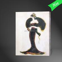 European Style Elegant Fashion Woman Figure Oil Painting