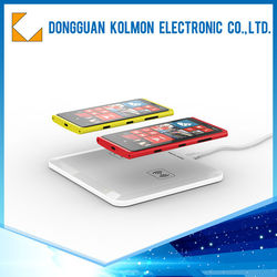 New design QI standered 5W wireless charging pad for samsung galaxy s2