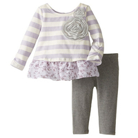 Cotton christmas clothing sets new fashion baby girl outfits back to school girls fall boutique outfits