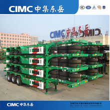 CIMC 40FT Container Chassis Skeleton Trailer, 40FT Skeleton Trailer, Skeleton Semi Trailer Container Chassis