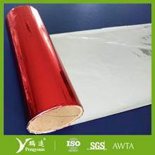 Laminating film PET/PE red color plastic film