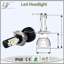 hot sale in stock promotion alibaba power saver car h4 headlamp led bulb
