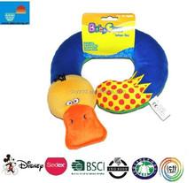 Cute Baby infants kids pillow duck car/U duck shape pillow Saver Protector Head Support Pillow