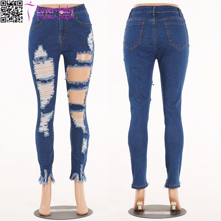 2017 femmes tuer effiloch d chir nouveau mod le jeans pantalon jeans femme id de produit. Black Bedroom Furniture Sets. Home Design Ideas