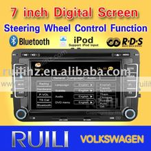 2011 hot sell car video for VW TOURAN built-in GPS