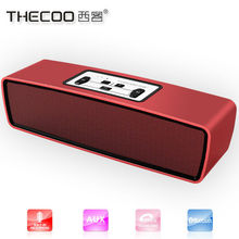 For promotion gifts Portable Bluetooth Stereo Speaker with 2 X 5W Speaker Enhanced Bass Resonator