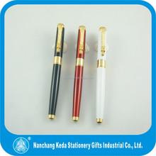high quality metal pens shining chrome tip clip promotional pen 1000s