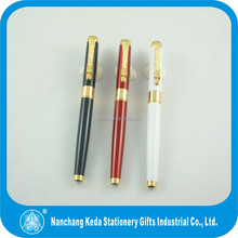 high quality metal shining chrome tip clip promotional pen 1000s