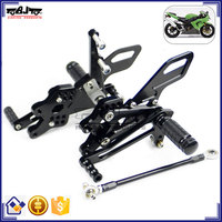 ARS-10R/04 High Quality CNC Racing Motorcycle Adjustable Rearsets for Kawasaki ZX-10/ ZX10R 04-05
