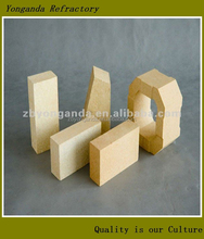 clay brick used for furnace throat types of refractory bricks