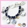 Latest design salior mens nautical anchor bracelet for men/