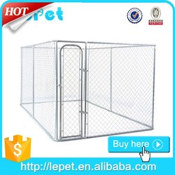 wholesale large outdoor chain link dog kennel lowes in China