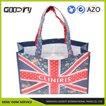 PET eco-friendly folding non woven shopping/promotional/tote bag with matt lamination