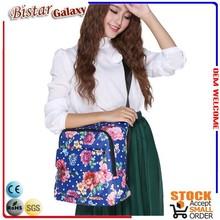 Fashion design messenger bag printed PVC women shoulder bag patent product BSB103
