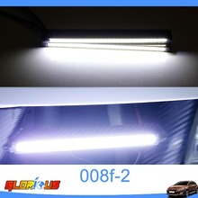2015 new System Fashion Brightness Waterproof high quality DRL Car COB LED Daytime Running Light