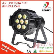 China Supplier Stage Light 7*10W 4 in 1 LED Mini Par Can Lights Sale