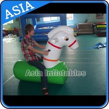 Inflatable Pony Horse Ride Toys For Entertainment Games