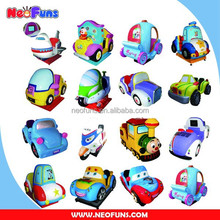 High Quality Fiberglass Dollor Coin Operated Kiddie Rides China, Amusement Used Kiddie Rides
