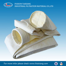 Polyester Nonwoven Waterproof Oil Resistance super fine fiber dust collector bag for Cement Plant