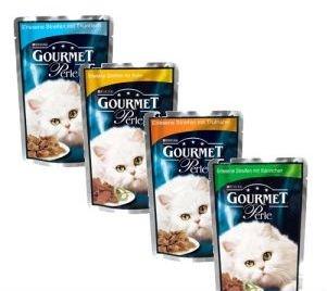 Gourmet Cat Food Sachets