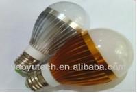 4Watt DC 12V E27 Auminum 3Watt 5W 7W LED Bulb warm cool white 6500K / Zhong shan China LED light bulbs manufacturer