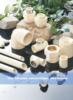 Drainage Plastic Fitting PVC Pipe Fitting 45 Degree Elbow