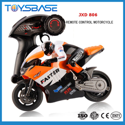 China Wholesale JXD 806 2.4G 4CH Radio Control 1:10 RC Mini Motorcycle for Sale