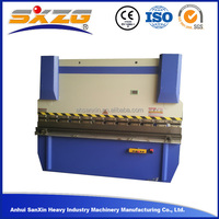 Good price with low cost angle bar steel manual folding machine specification plate bending machine 80T/3200