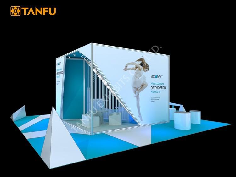 Tanfu conception stand d 39 exposition pour salon 100 for Conception stand de foire