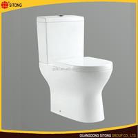 Hot sale ceramic toilet washroom portable chemical toilet