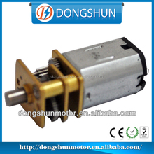DS-12SSN20 1.5v 12mm 1500rpm N20 mini dc spur geared motor