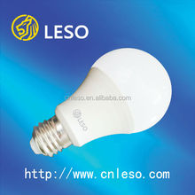 hot sell led bulb lamp e27 9W plastic+aluminum type