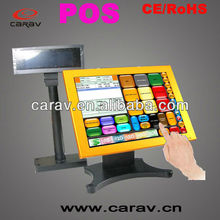 Touch Screen Integrated Barcode Reader,Windows ce Os Pos Terminal