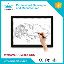 Good Performance!Huion interactive whiteboard tracing board led lilght pad A4