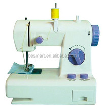 BM208 mini home sewing machine domestic sewing machine manual&mini electric double thread double speed