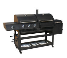 charcoal gas combined grill