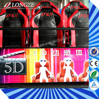 Hot Sale Hydraulic/Electric 5D 6D 9D Cinema Theater Movie Manufacturer