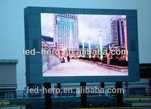 Led letrero para publicidad sexo xxx video / exterior llevó el módulo de visualización de vídeo de sexo