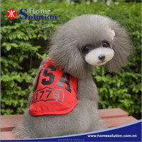 Summer sportswear dog clothing stores wholesale pet clothes factories in china