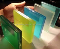 China Best Tempered Laminated Glass price m2 with ISO BV CE CCC